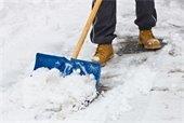 Image of shoveling snow