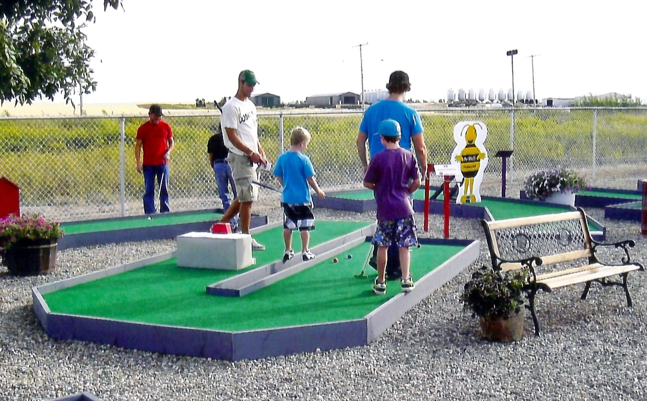Rosetown Tourism Centre Mini-Golf Course