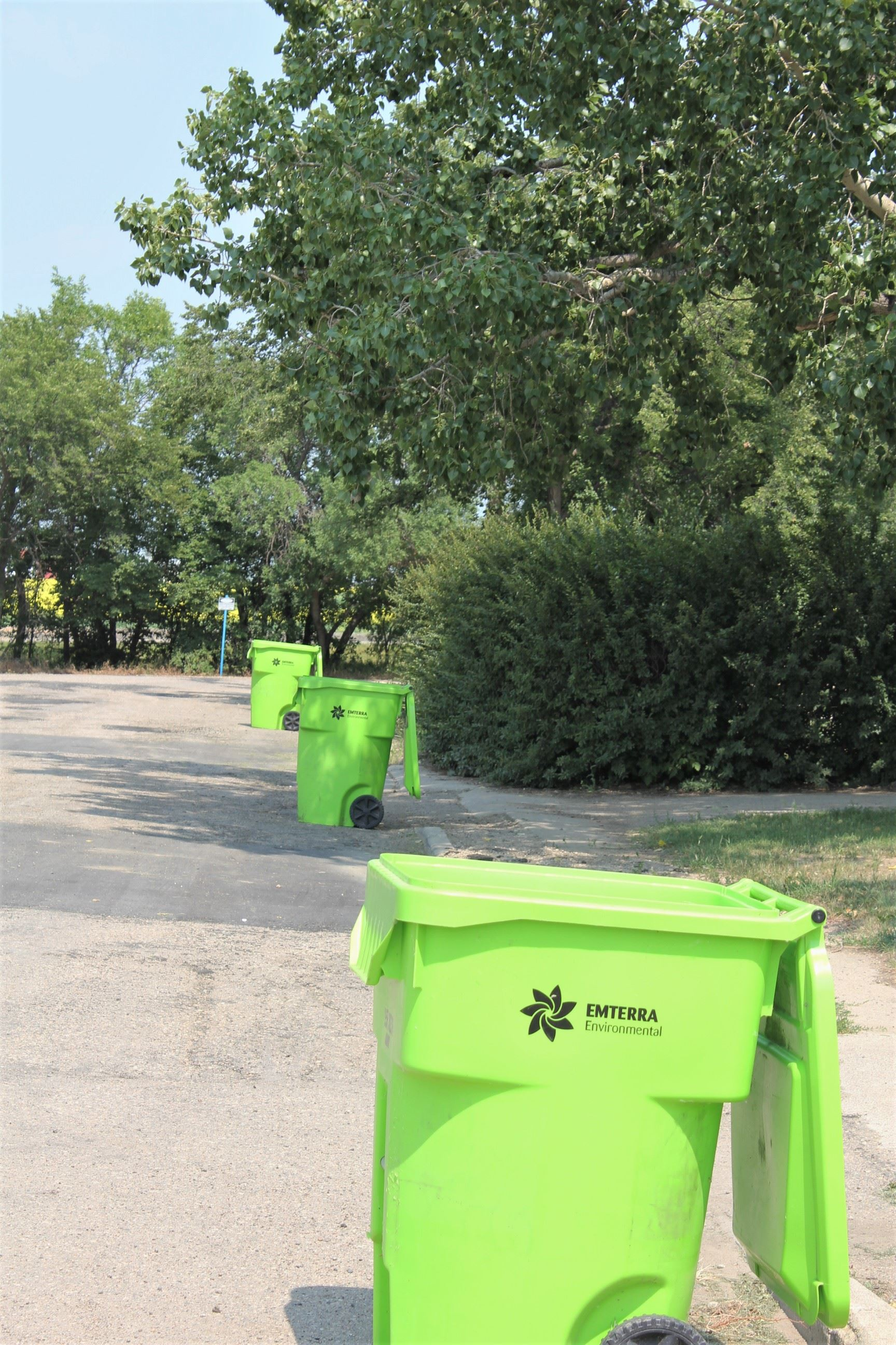 Image of Recycling Bins