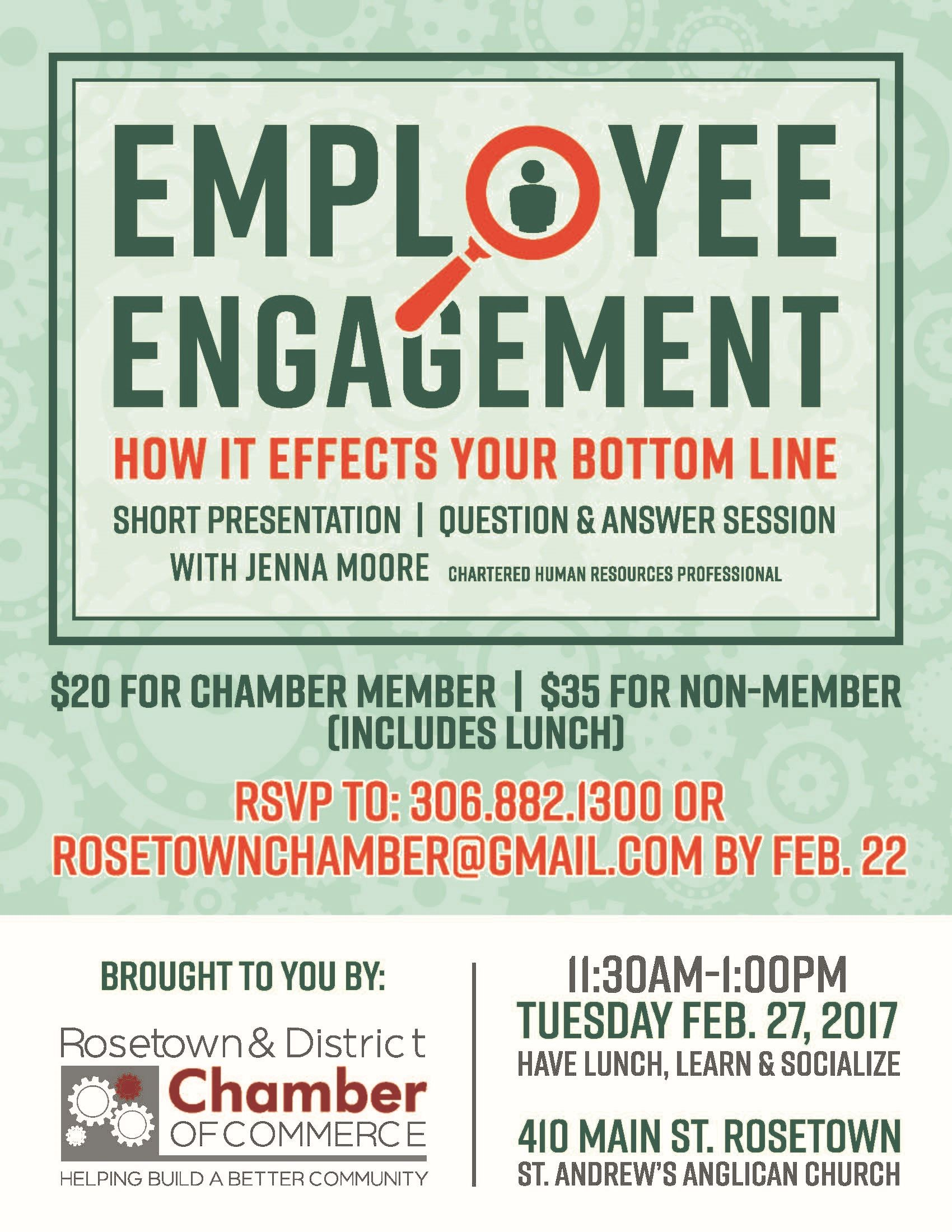Image of Chamber Lunch and Learn February 2018 ad