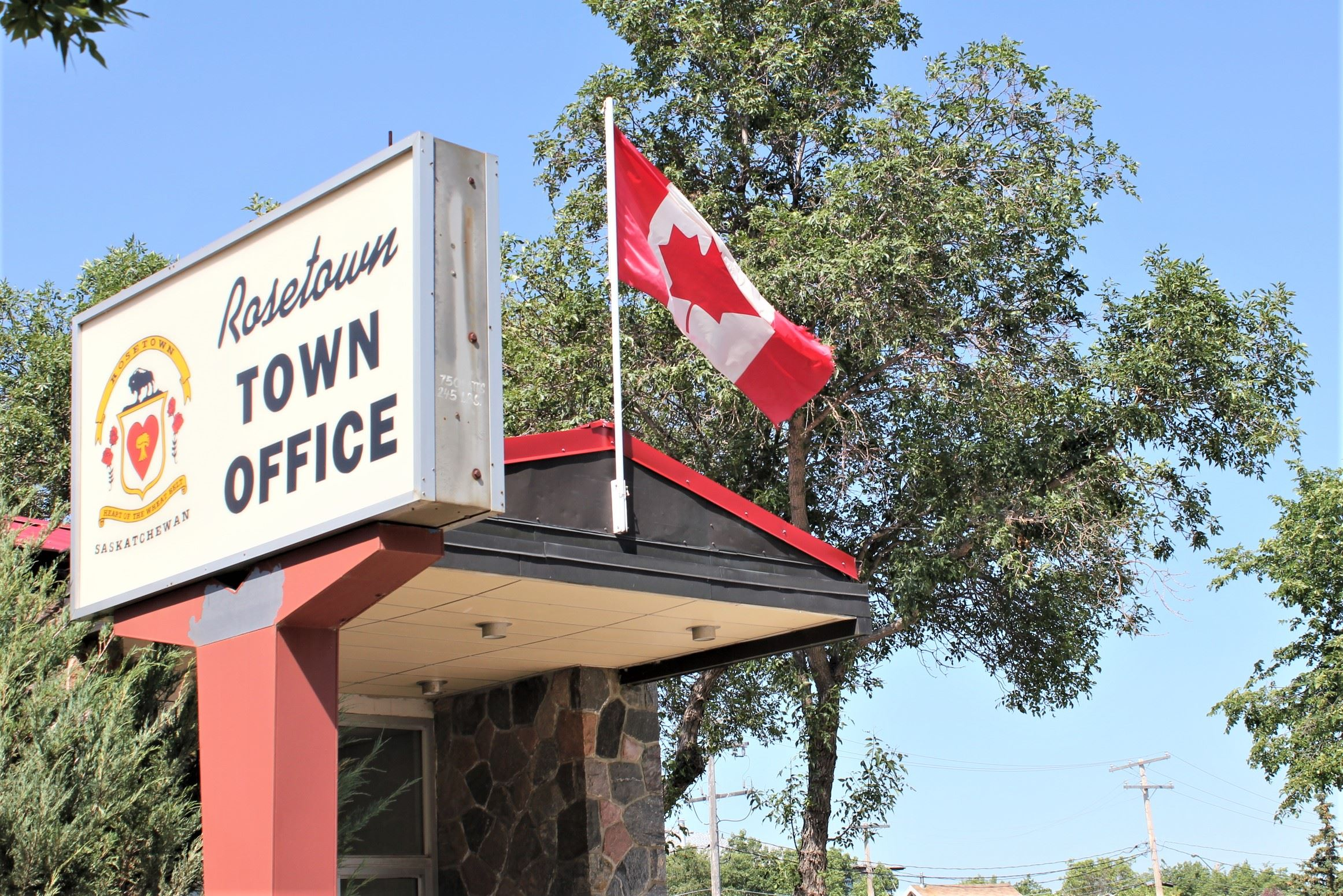 Image of Town Office Sign