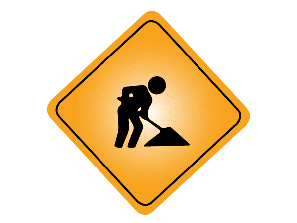 Image of construction sign