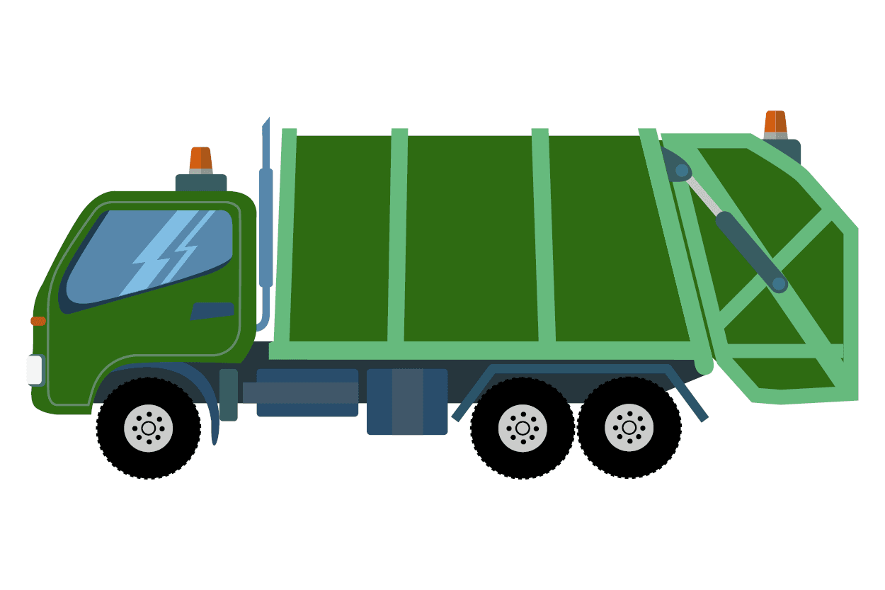 Image of garbage truck