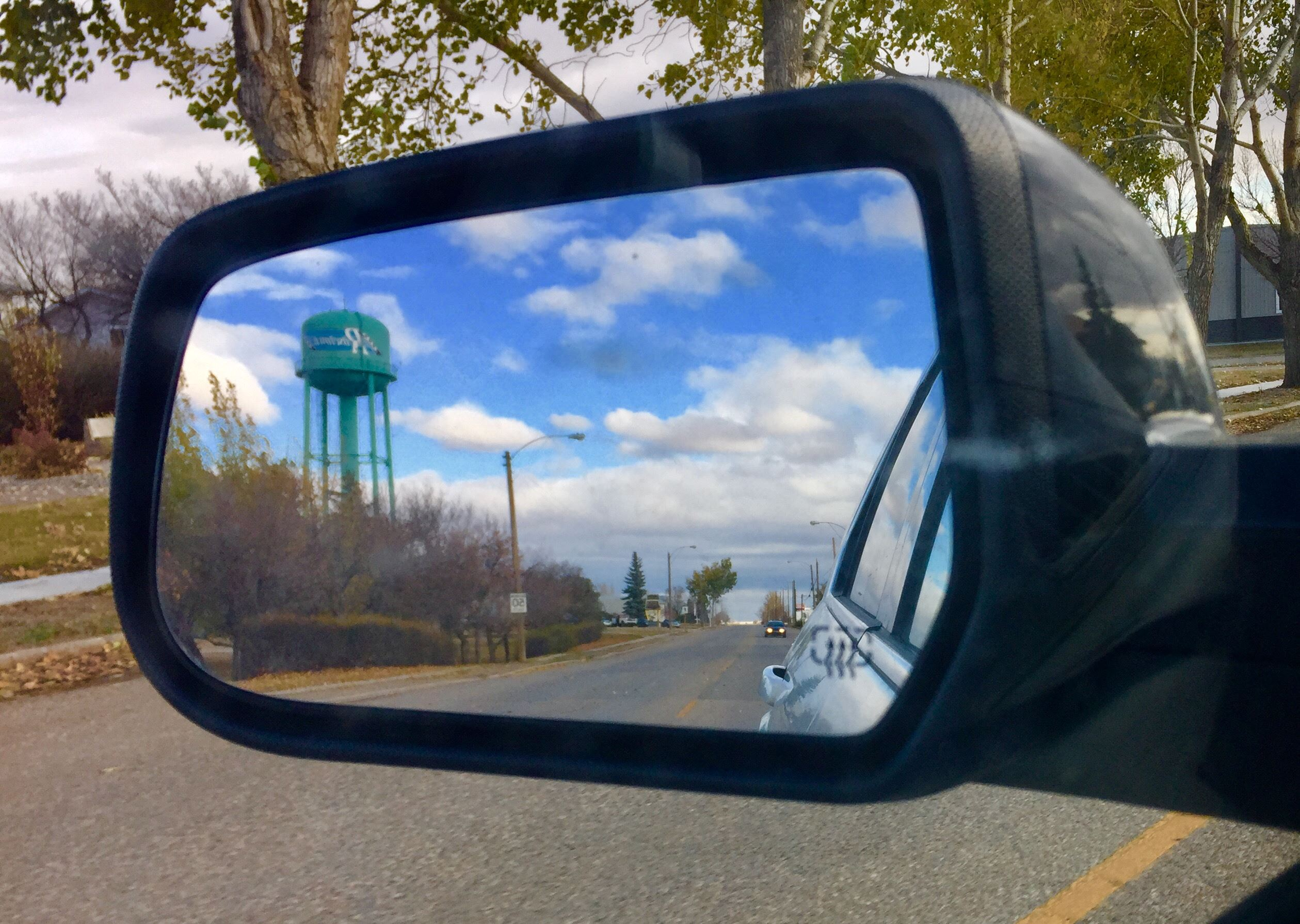Photo of Side Mirror Water Tower
