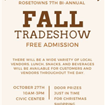 Image of poster for fall trade show