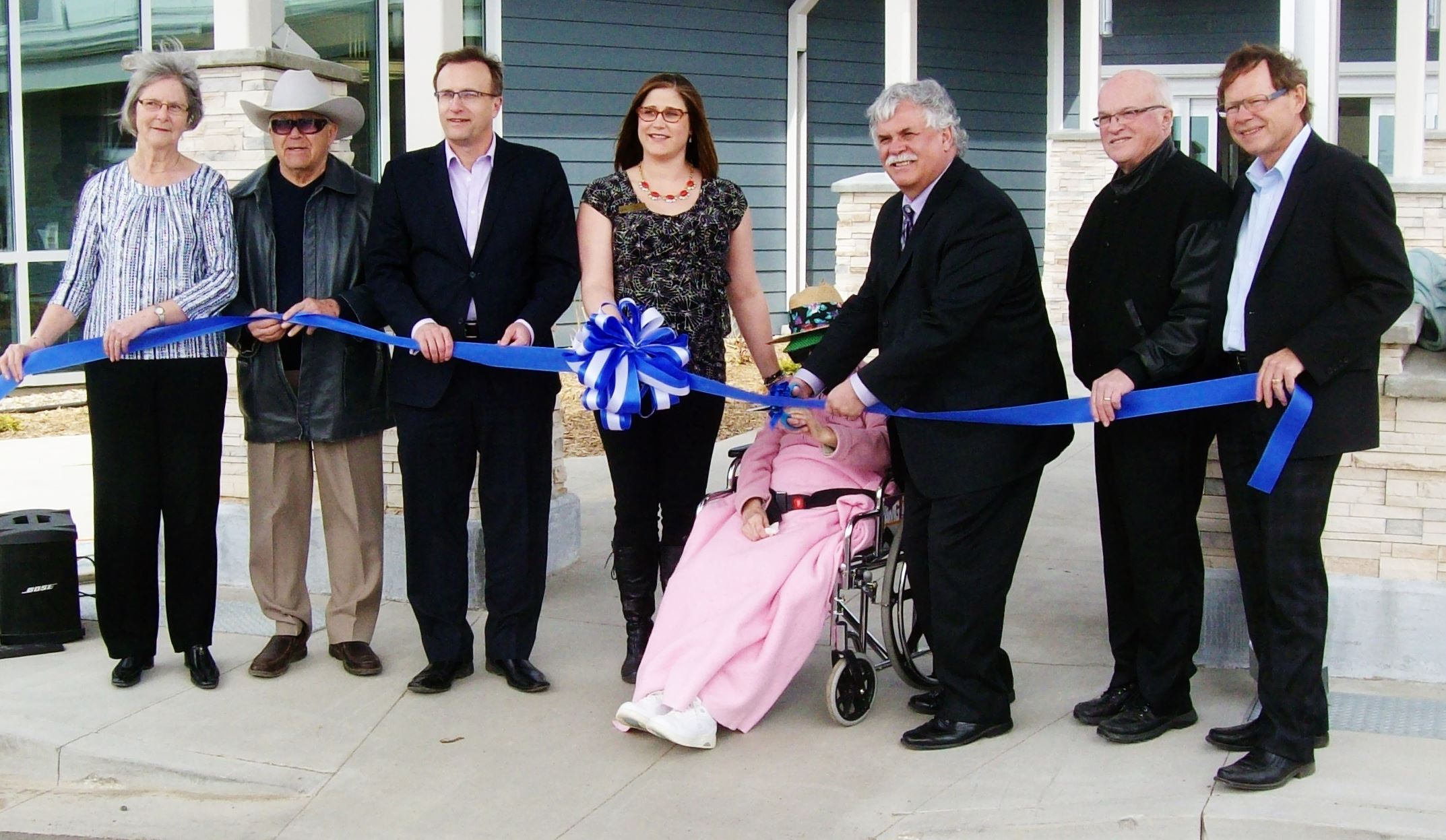 Ribbon Cutting at Rosetown Villa